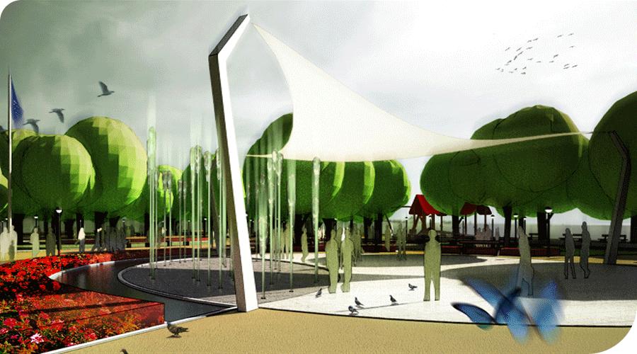 Concurso para el Parque Navarra en Madrid. 2008