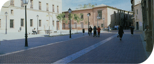 Reforma plaza Alcalá de Henares