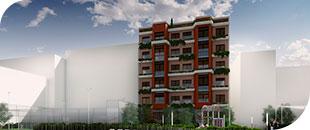 Edificio de 28 viviendas en Madrid, Bretón de los Herreros 41